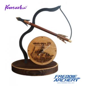 Bow and arrow desk clock(Suncheon bay)
