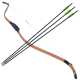Song Mu Gung Bow and 3 Arrows Set