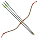 Taegeuk Horn Bow and 3 Arrows Set
