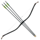 KTB KINGDOM Bow and 3 Arrows Set