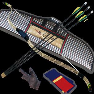 SMG_Snake Leather imitation_Bow Set
