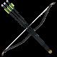 KTB KINGDOM Bow and 3 Arrows Set